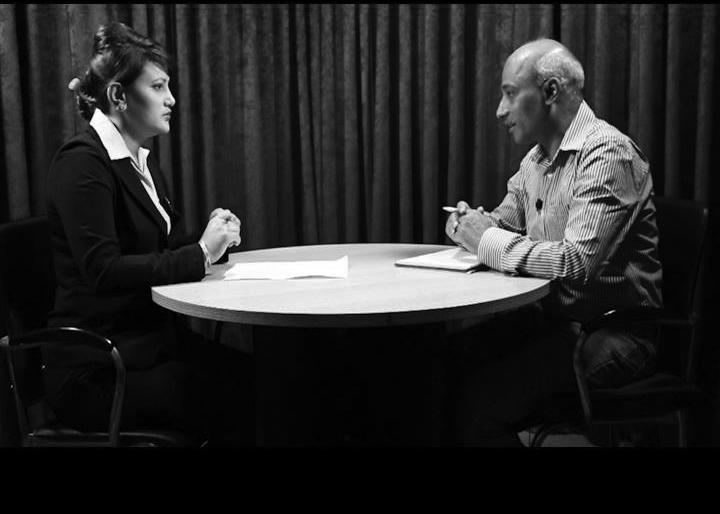 Television interviews